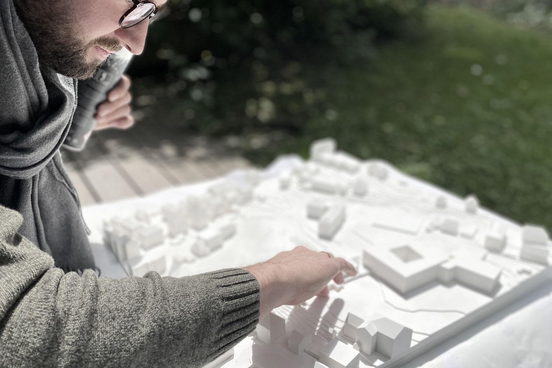 Wettbewerb Neubau Dreifachsporthalle in Kempten mit Parkhaus