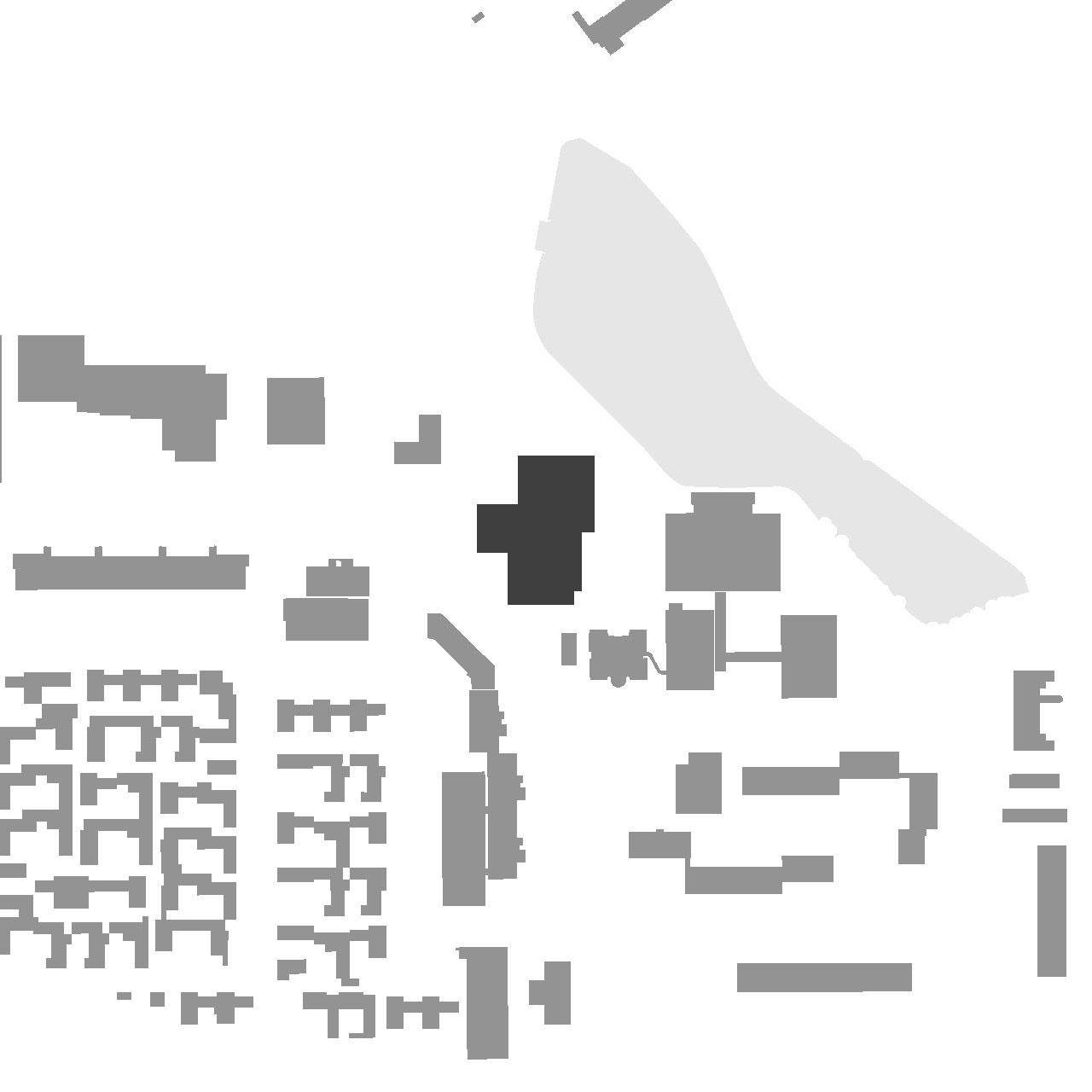Erweiterung Erich-Kästner-Schule Darmstadt-Kranichstein, Lageplan