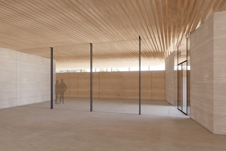 Neubau Bürgerhaus Kastel-Kostheim, Foyer