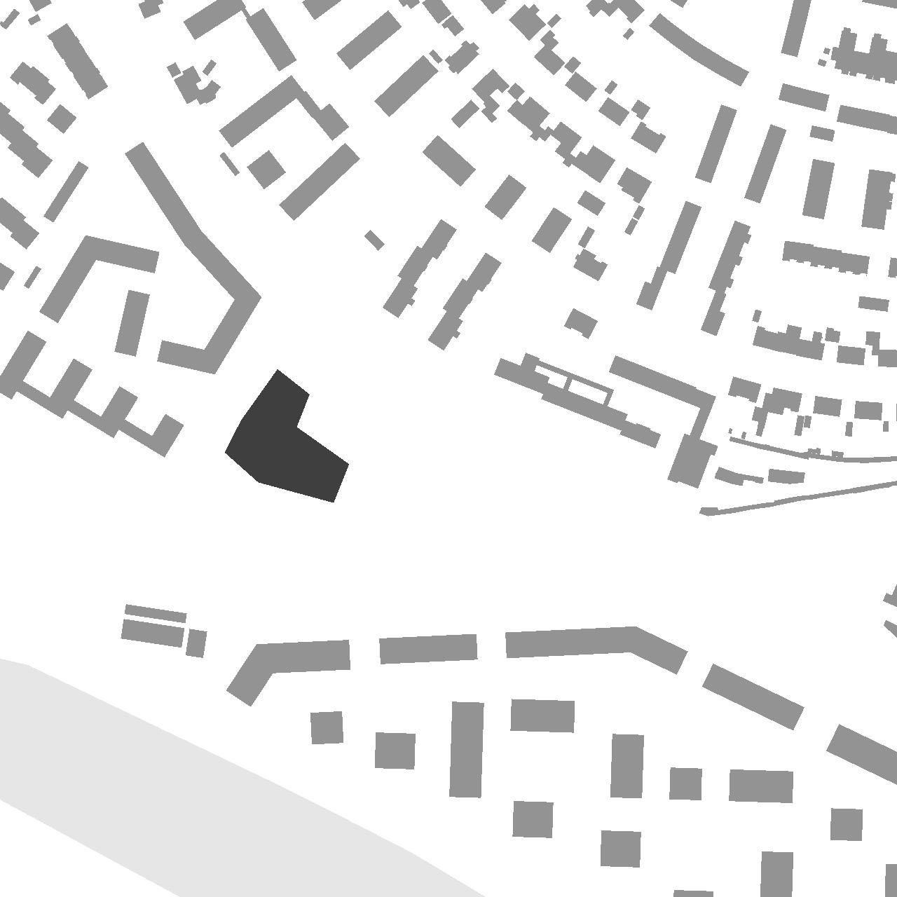 Neubau Bürgerhaus Kastel-Kostheim, Lageplan