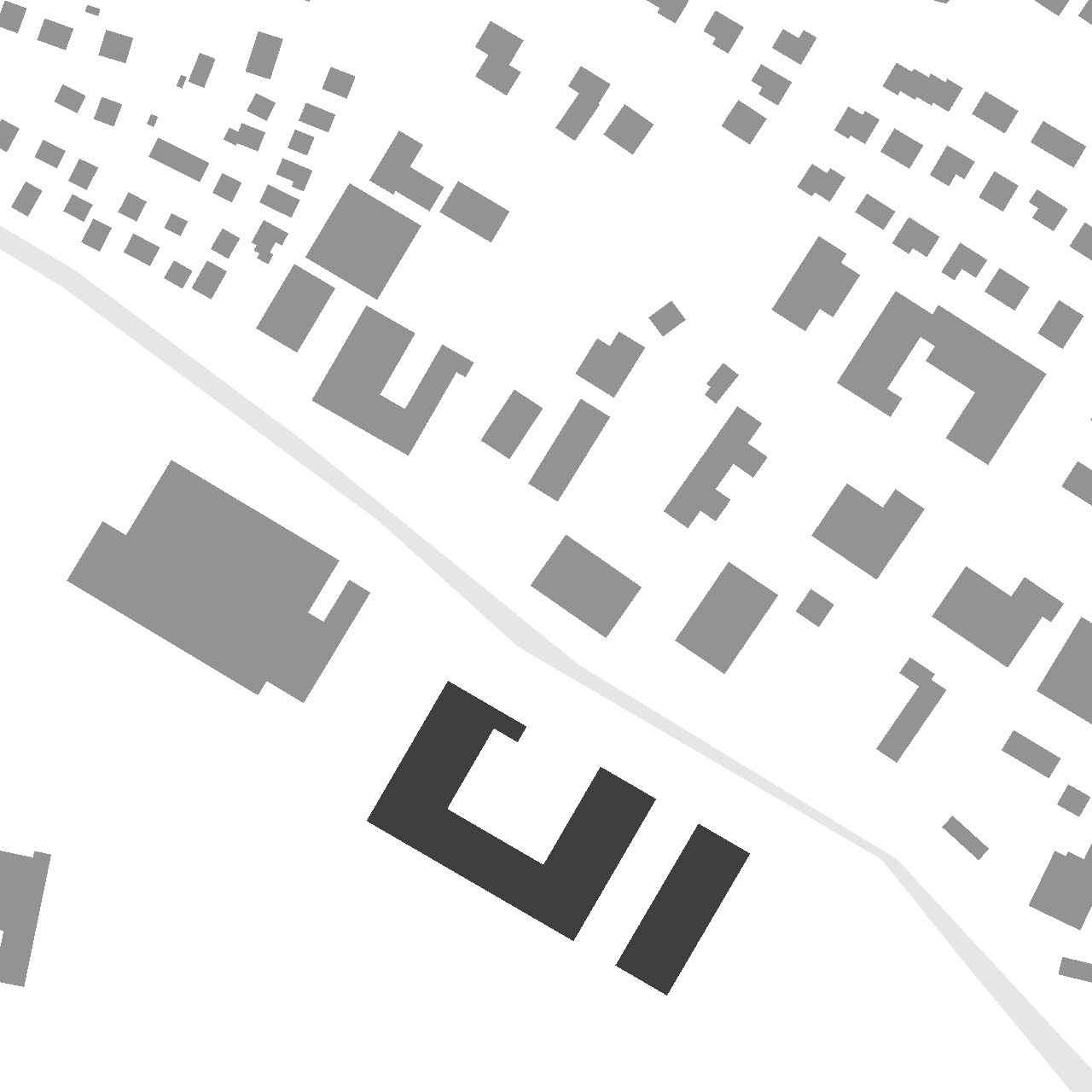 Neubau Feuerwehr und Bauhof Metzingen, Lageplan