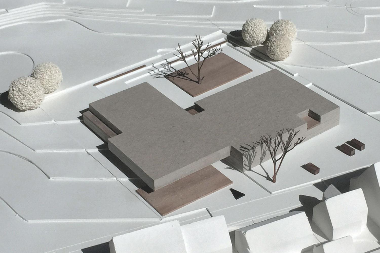 Wettbewerb Neubau Grundschule mit Turnhalle Ammerbuch-Altingen, Modell