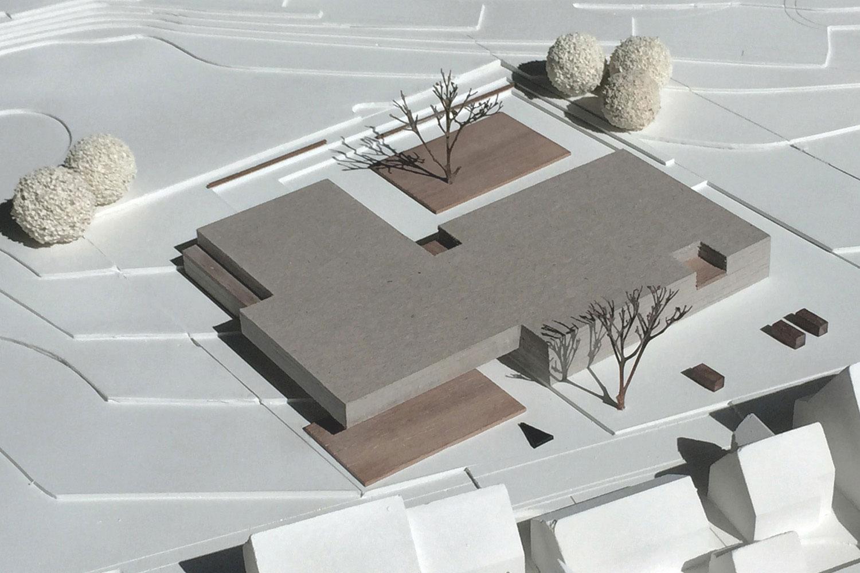 Neubau Grundschule mit Turnhalle Ammerbuch-Altingen, Modell