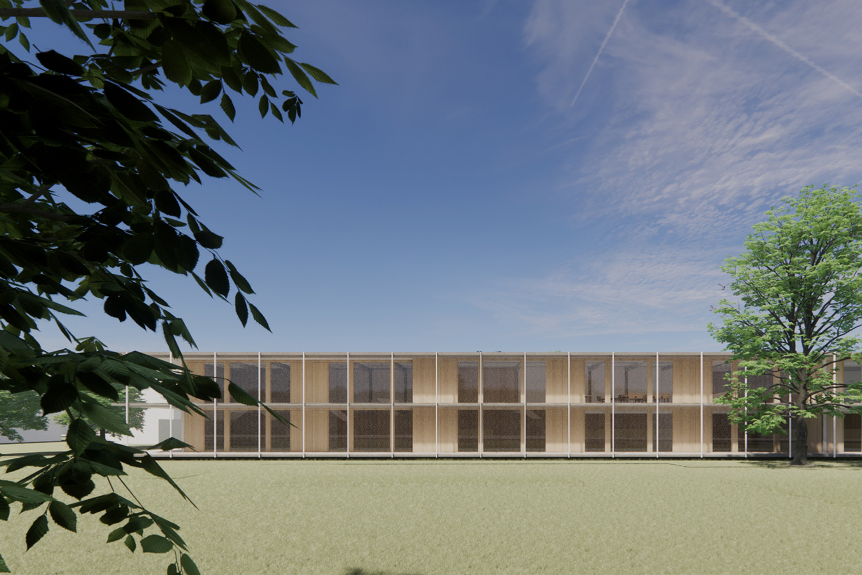 Sanierung Windeck-Gymnasium Bühl, Ansicht