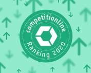 competitionline Ranking 2020: dasch zürn + partner auf Platz 17, Kategorie Architekten