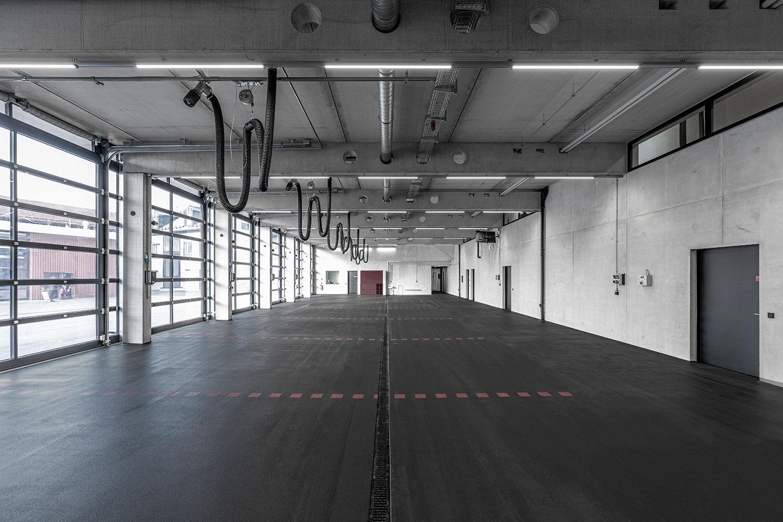Feuerwehr Kaufbeuren für DAM Preis 2022 nominiert, Feuerwehrhaus
