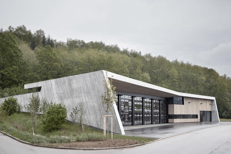 Neubau Feuerwehrhaus Wannweil von Architektenkammer Baden-Württemberg für Beispielhaftes Bauen ausgezeichnet