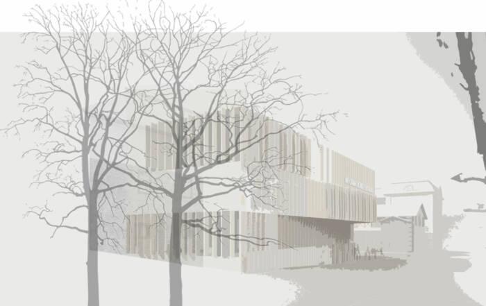 Teilnahme am Wettbewerb zum Neubau des Informationszentrums der Hochschule für Wirtschaft und Umwelt in Nürtingen