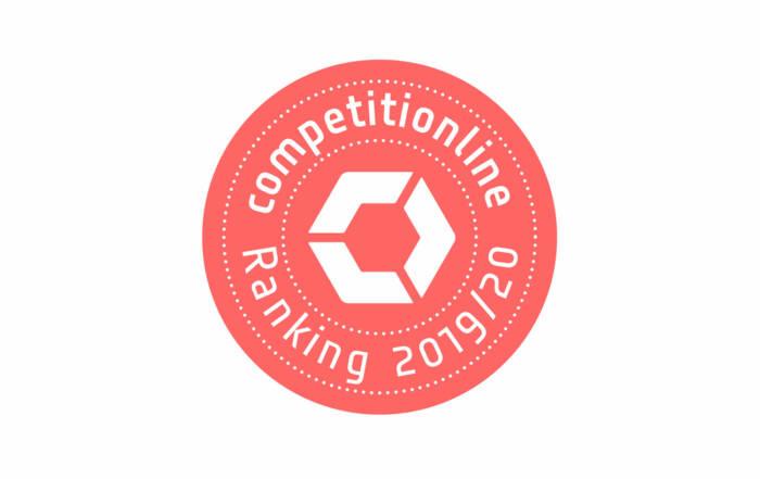 4. Platz im competitionline-Ranking 2019/2020