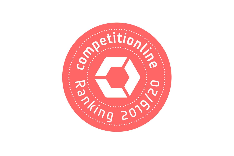 4. Platz für dasch zürn + partner im competitionline-Ranking 2019/2020