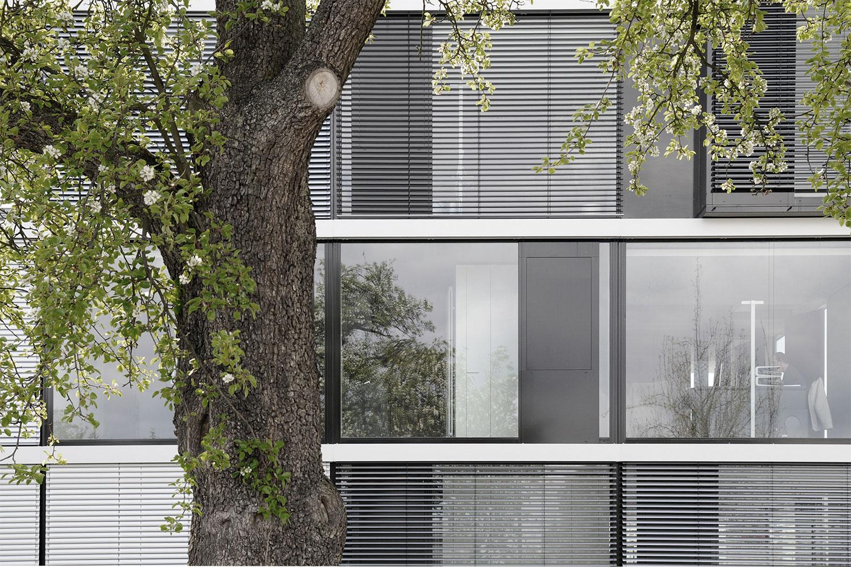 Neubau Bürogebäude Leinfelden-Echterdingen, Fassade