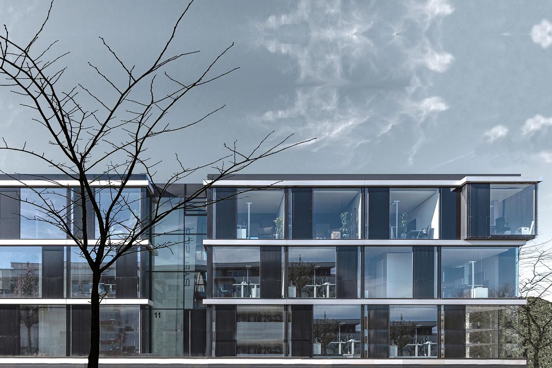 Neubau Bürogebäude Leinfelden-Echterdingen, Ansicht
