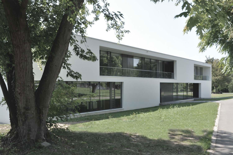 Erweiterung Albert-Schweitzer-Gymnasium Neckarsulm, Ansicht Tag