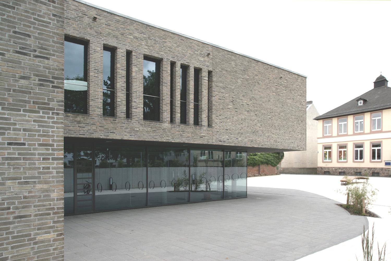Neubau Grundschule mit Mehrzweckhalle Oberursel, Ansicht