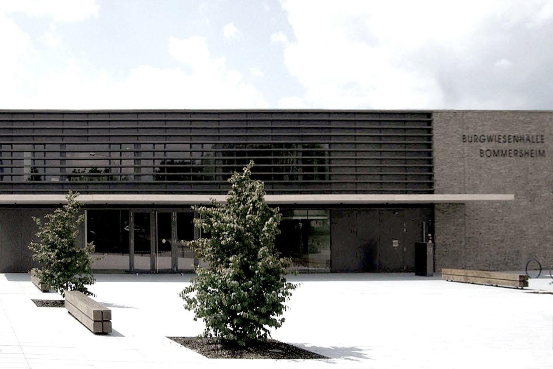 Neubau Grundschule mit Mehrzweckhalle Oberursel, Eingang Mehrzweckhalle