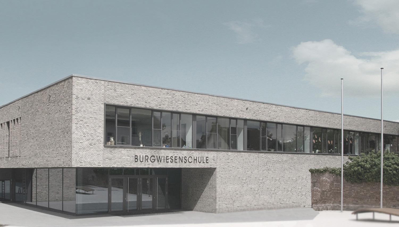 Neubau Grundschule mit Mehrzweckhalle Oberursel, Eingang