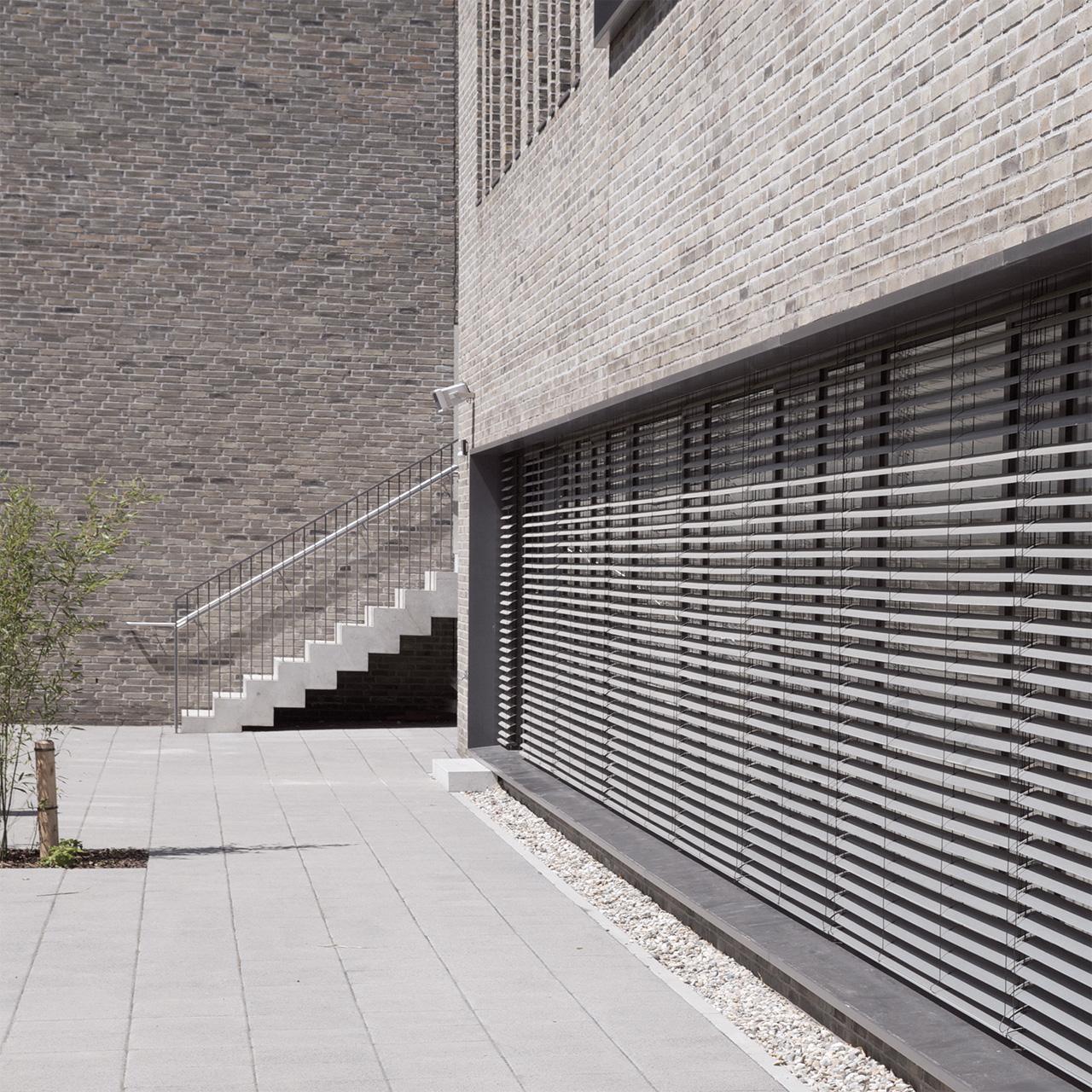 Neubau Grundschule mit Mehrzweckhalle Oberursel, Fassadendetail