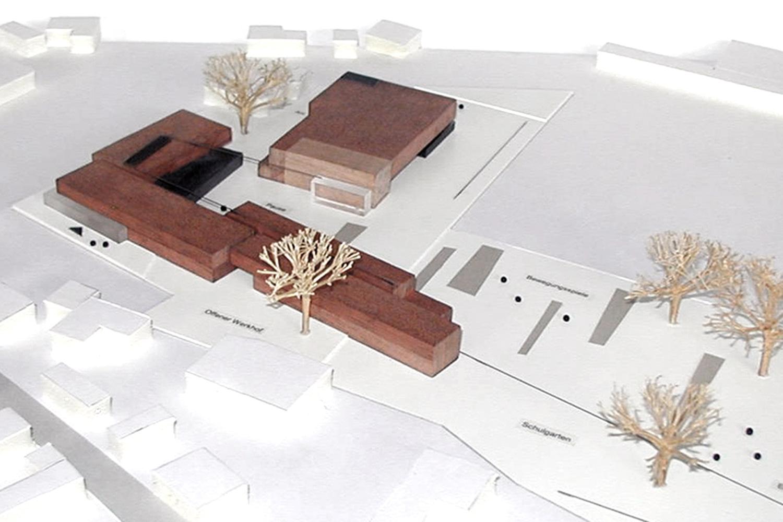Neubau Grundschule mit Mehrzweckhalle Oberursel, Modell