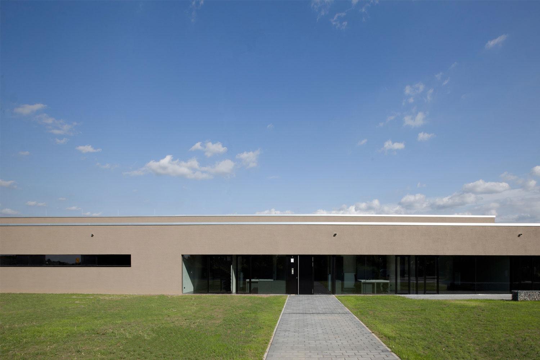 Neubau Hilfeleistungszentrum Hirschberg, Aussenansicht