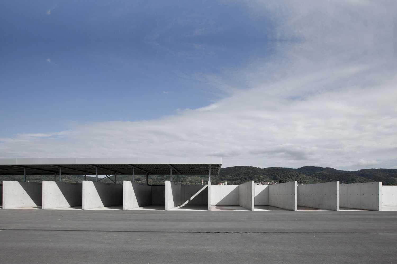 Neubau Hilfeleistungszentrum Hirschberg, Bauhof