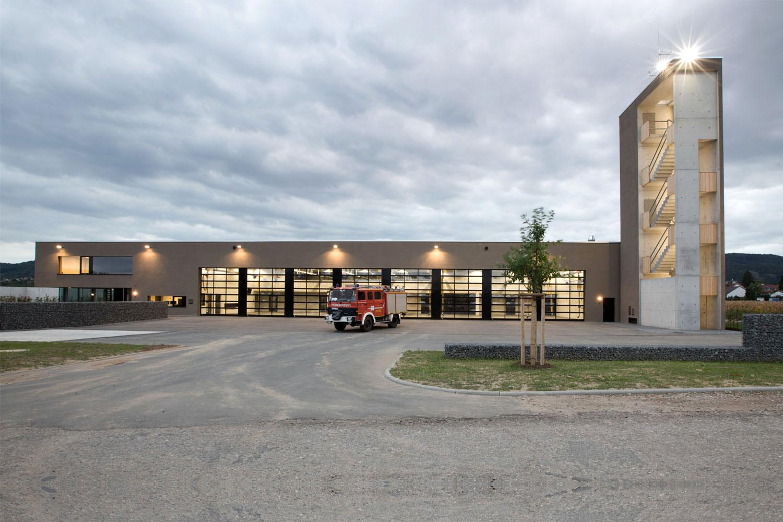 Neubau Hilfeleistungszentrum Hirschberg, Feuerwehr