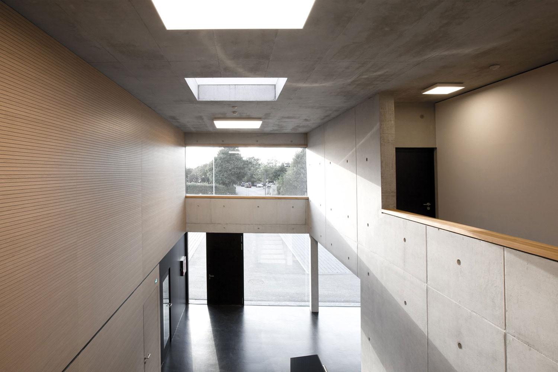 Neubau Hilfeleistungszentrum Hirschberg, Innenansicht