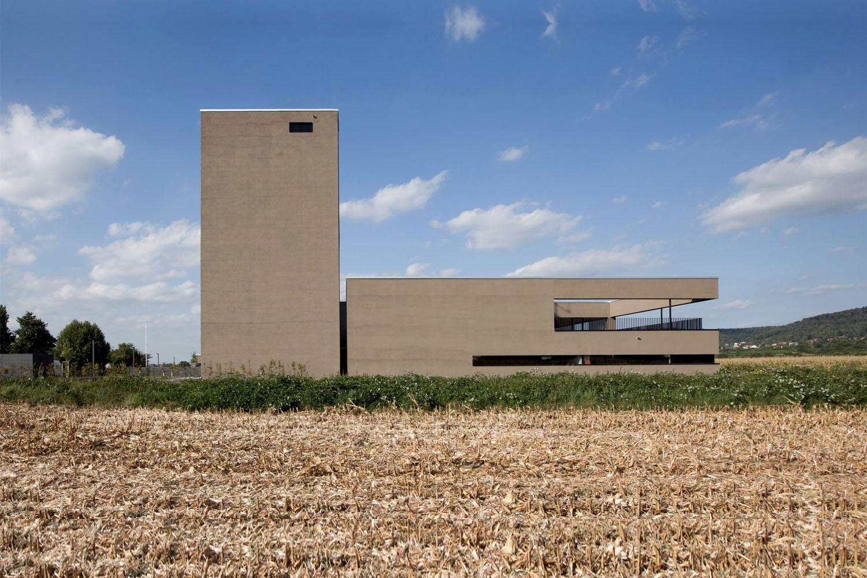 Neubau Hilfeleistungszentrum Hirschberg