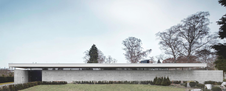 Neubau Aussegnungshalle Leinfelden-Echterdingen, Ansicht