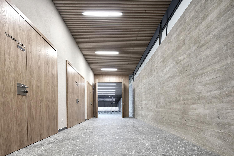 Neubau Aussegnungshalle Leinfelden-Echterdingen, Ausbau