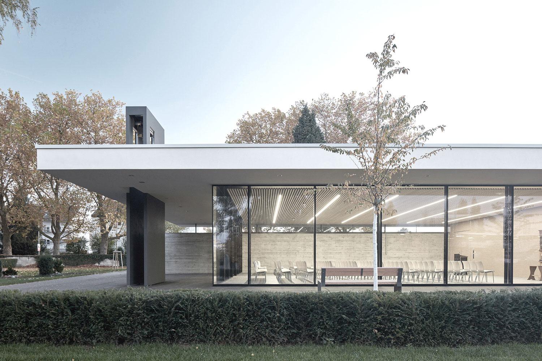 Neubau Aussegnungshalle Leinfelden-Echterdingen, Ausschnitt