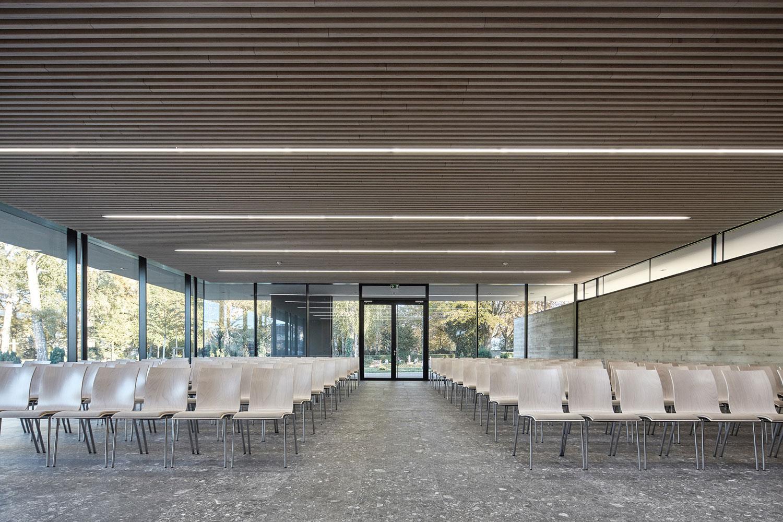 Neubau Aussegnungshalle Leinfelden-Echterdingen, Feierraum