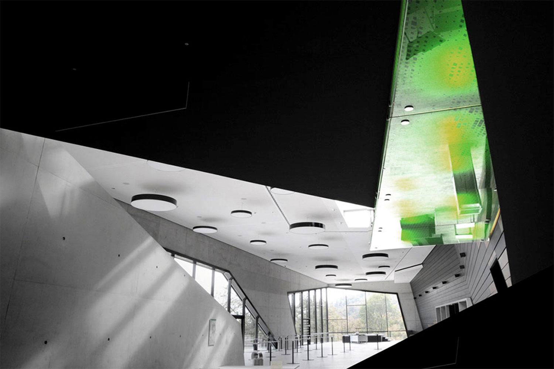 Neubau Congress Centrum und Tagungshotel Heidenheim, Ausschnitt Foyer