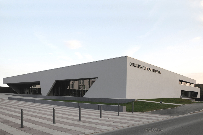 Neubau Congress Centrum und Tagungshotel Heidenheim, Eingang Congress
