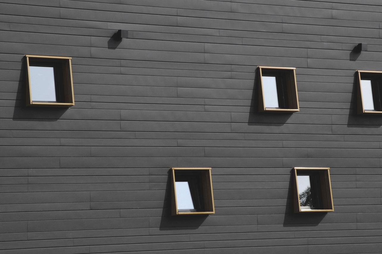 Neubau Congress Centrum und Tagungshotel Heidenheim, Fassadenausschnitt