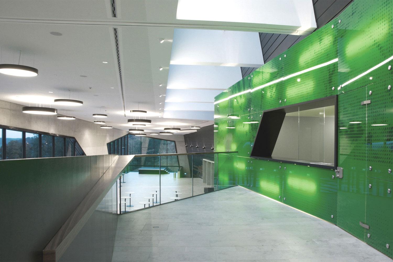 Neubau Congress Centrum und Tagungshotel Heidenheim, Foyer