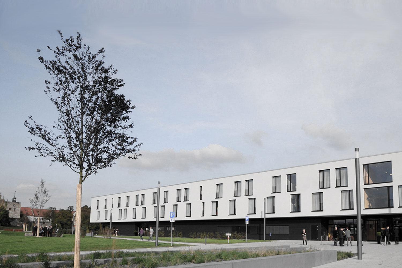 Neubau Congress Centrum und Tagungshotel Heidenheim, Hotelansicht