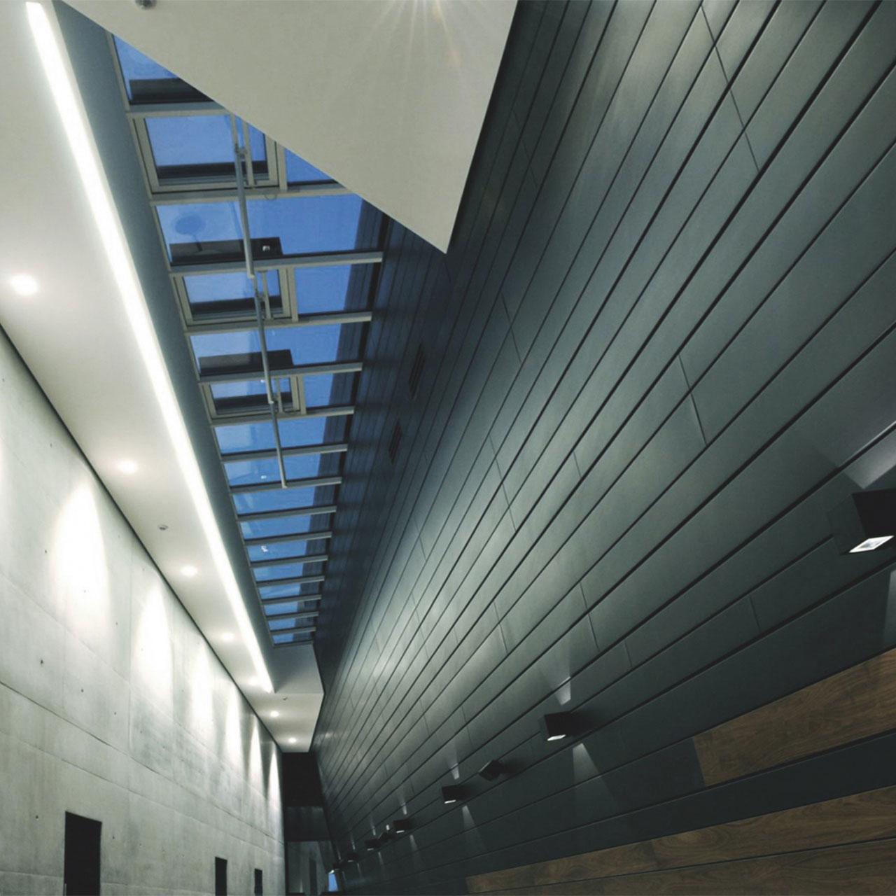 Neubau Congress Centrum und Tagungshotel Heidenheim, Oberlicht Foyer