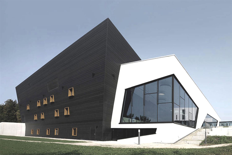 Neubau Congress Centrum und Tagungshotel Heidenheim, Panorama Südwest