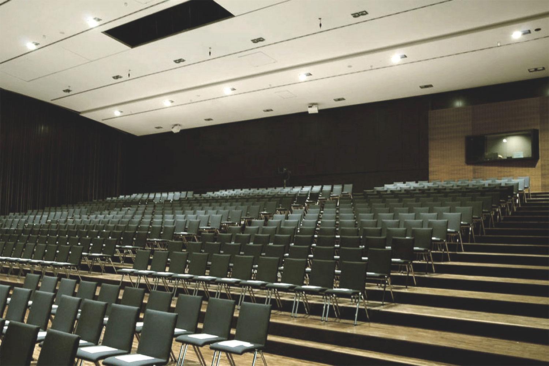 Neubau Congress Centrum und Tagungshotel Heidenheim, Saal