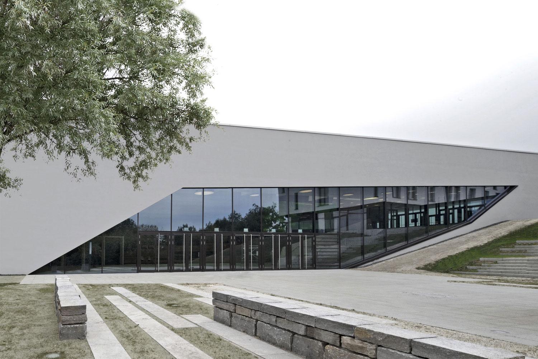 Neubau Congress Centrum und Tagungshotel Heidenheim, Seitenansicht