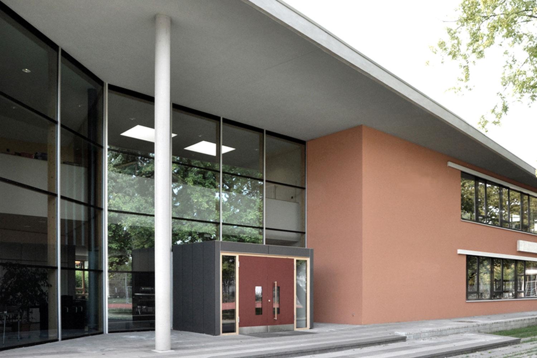 Neubau Franziskus Grundschule Schwäbisch Gmünd, Eingang