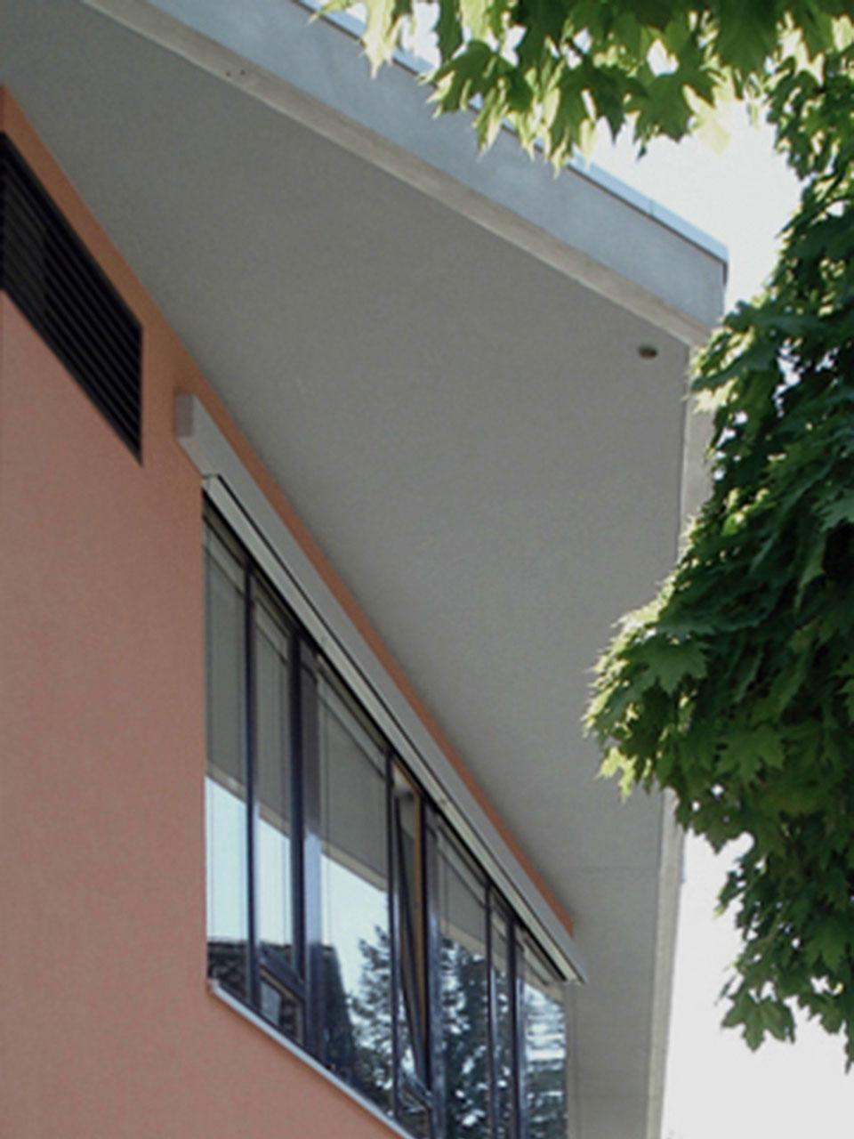 Neubau Franziskus Grundschule Schwäbisch Gmünd, Fassadendetail