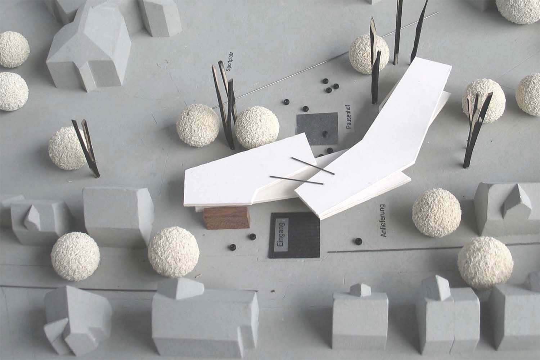 Neubau Franziskus Grundschule Schwäbisch Gmünd, Modell