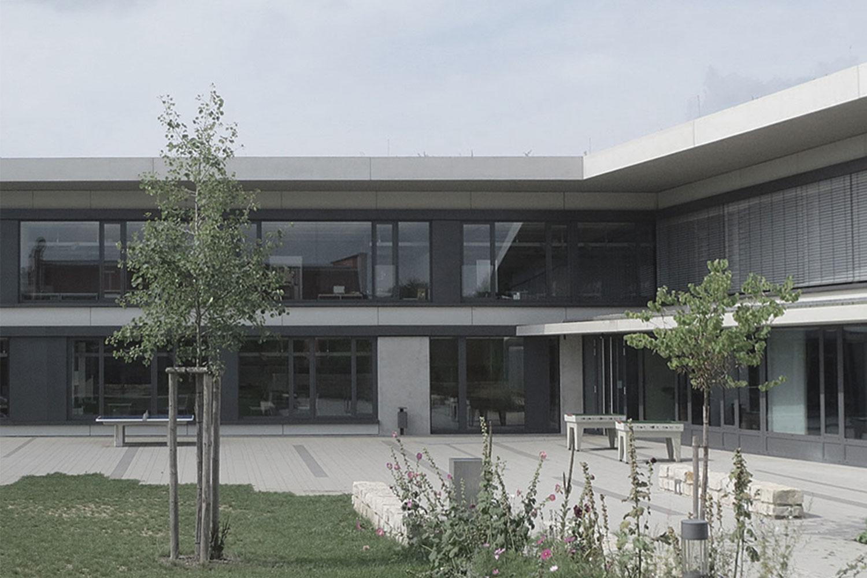 Neubau Franziskus-Gymnasium Mutlangen, Ansicht