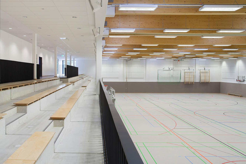 Neubau Integrierte Gesamtschule Hannover-Mühlenberg, Sporthalle