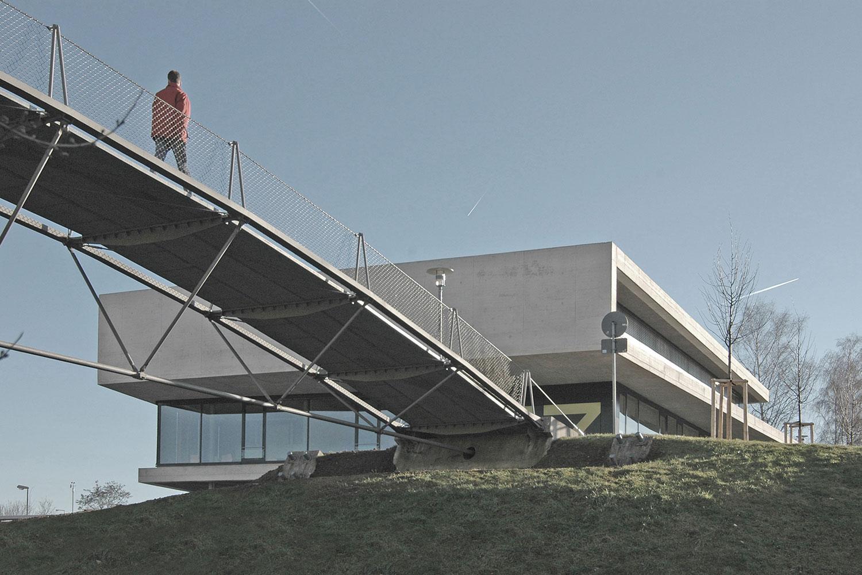 Neubau IZ Vaihingen, Brücke