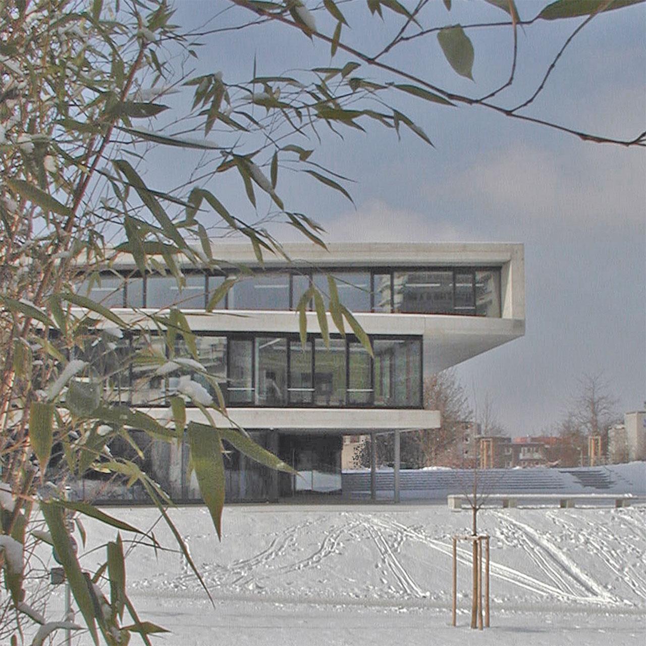 Neubau IZ Vaihingen, Fassadenausschnitt