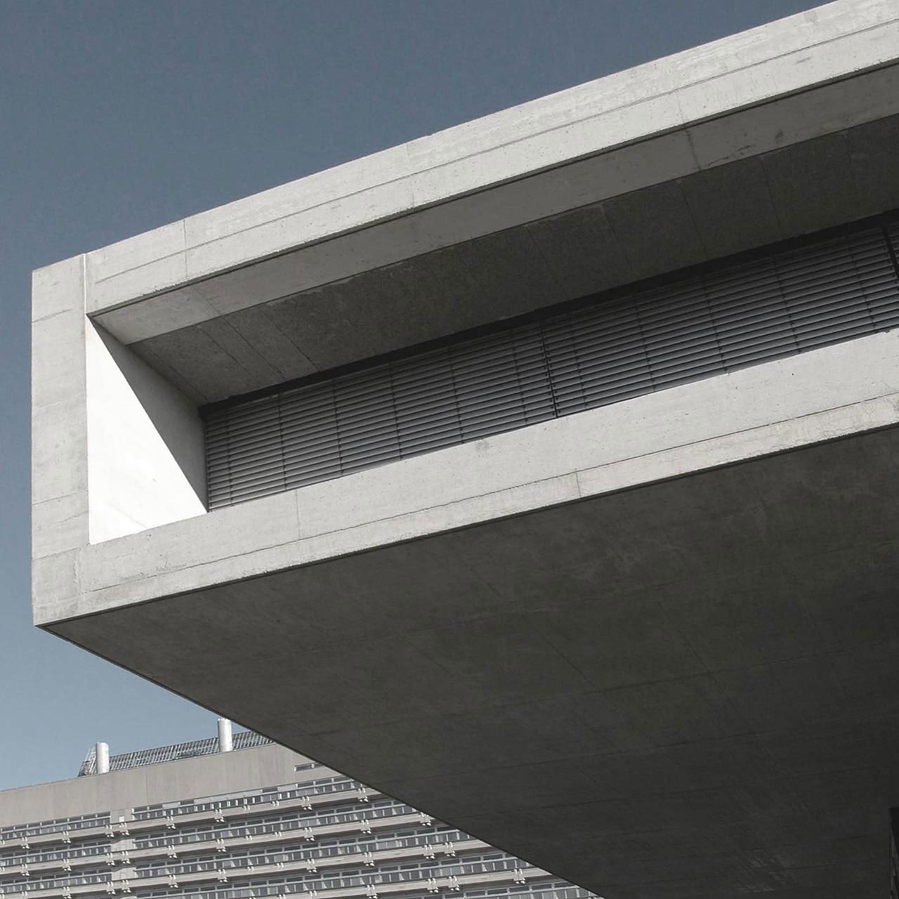 Neubau IZ Vaihingen, Fassadendetail