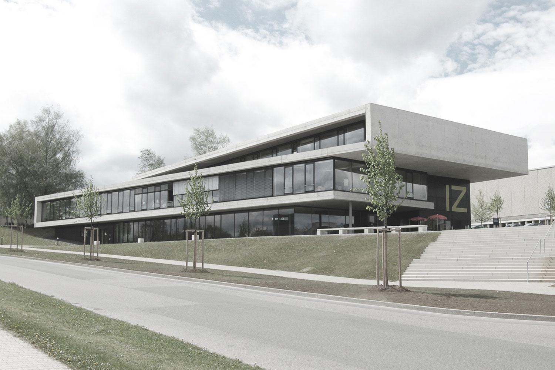 Neubau IZ Vaihingen, Straßenansicht