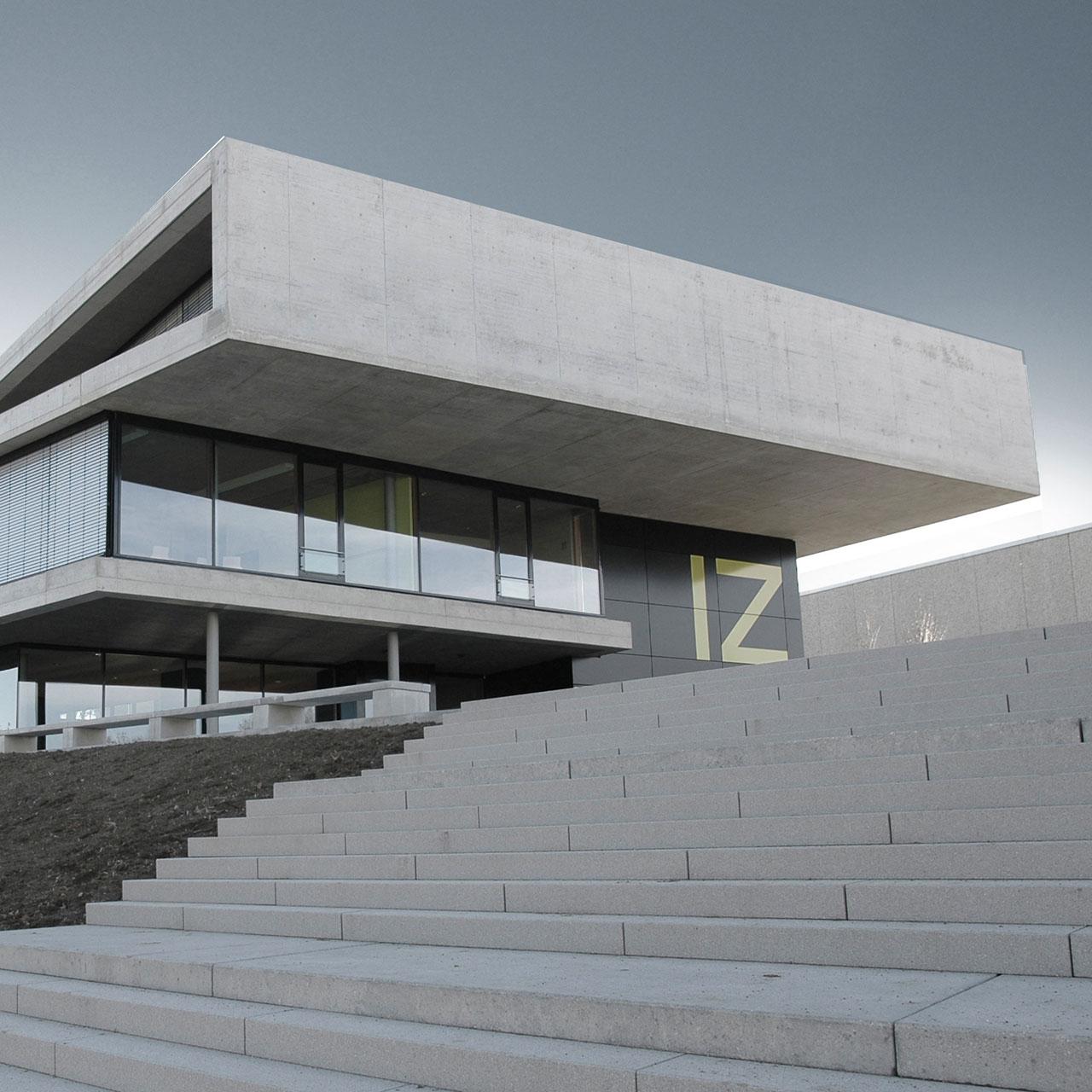 Neubau IZ Vaihingen, Zugang